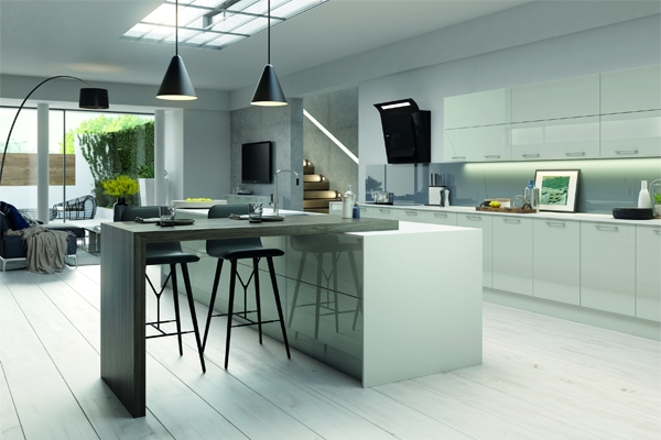 Tkc extends vivo range with additional colour options for Mid range kitchen cabinets