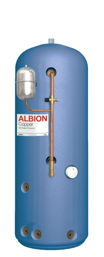 Albion Mainsflow Mfi 250 Indirect Vented Thermal Store Hot Water ...