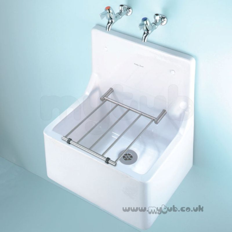 Armitage Shanks Alder S590001 510mm Cleaners Sink Wh