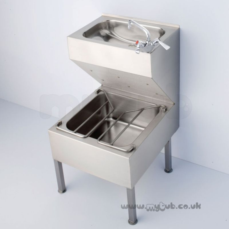 Armitage Shanks S6509 500 X 600mm Janitorial Unit Ss ...