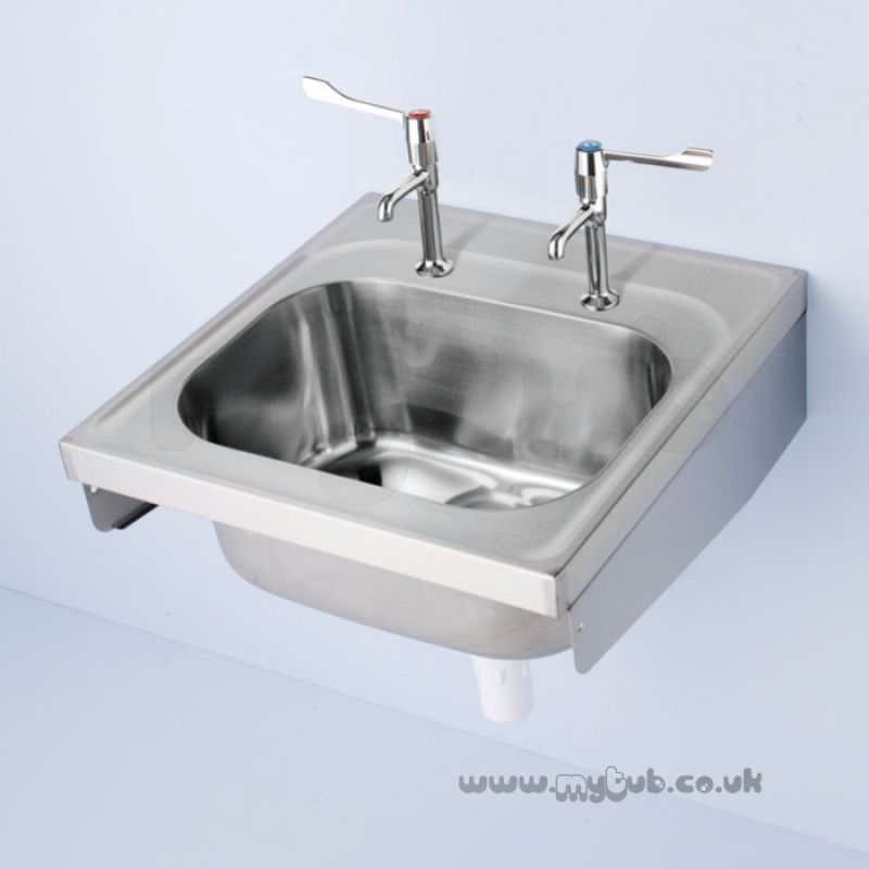 armitage shanks commercial sanitaryware   armitage shanks doon s5860 600x600mm two tap holes 1 0b sink armitage shanks doon s5860 600x600mm two tap holes 1 0b sink ss      rh   mytub co uk
