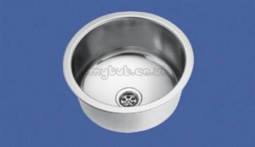 Sissons Stainless Steel Sinks : Sissons Stainless Steel Sinks - F0033 330 X 300 X 160 Inset Wash Bowl ...