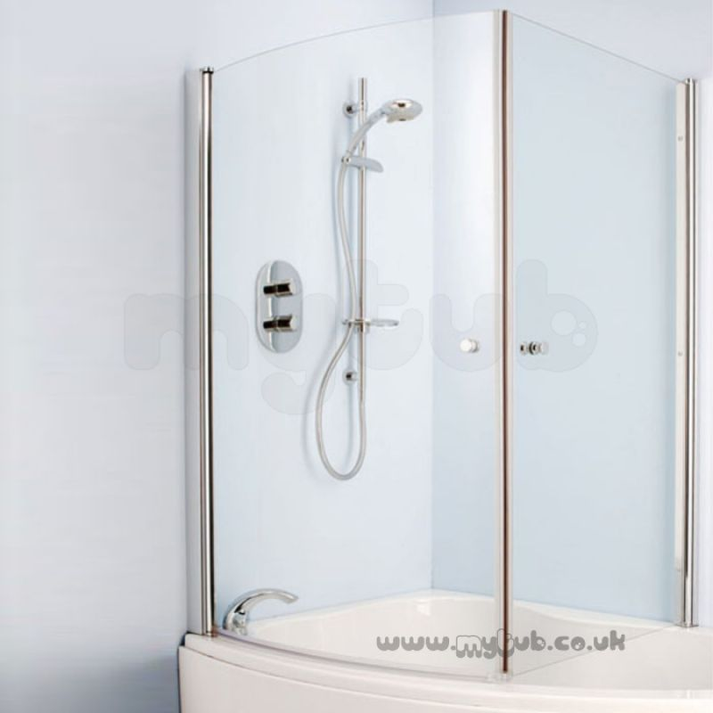 Ideal Standard Create L9125 Corner Bath Screen : Ideal Standard