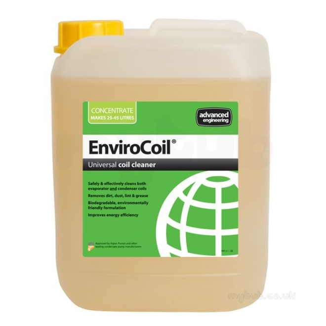 Advanced Engineering Envirocoil Evaporator/condenser Cleaner Concentrate  5ltr