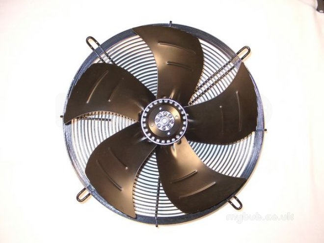 Pole Star 3 Phase 4 Pole Mounted Axial Sucking Fan 500mm