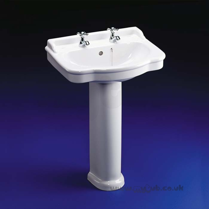 Ideal Standard Reflections E4720 600mm Two Tap Holes Basin