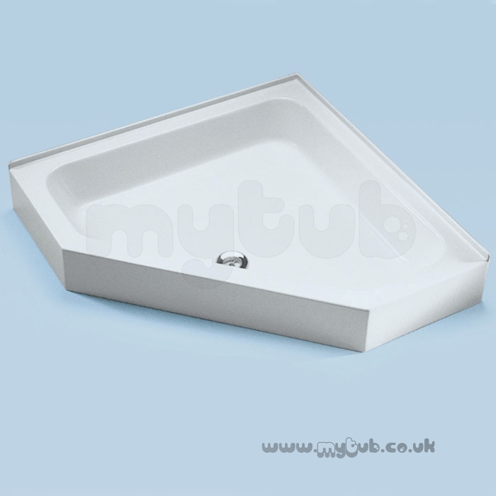 Ideal Standard Space E7084 800mm 5 Sided Shower Tray Wh