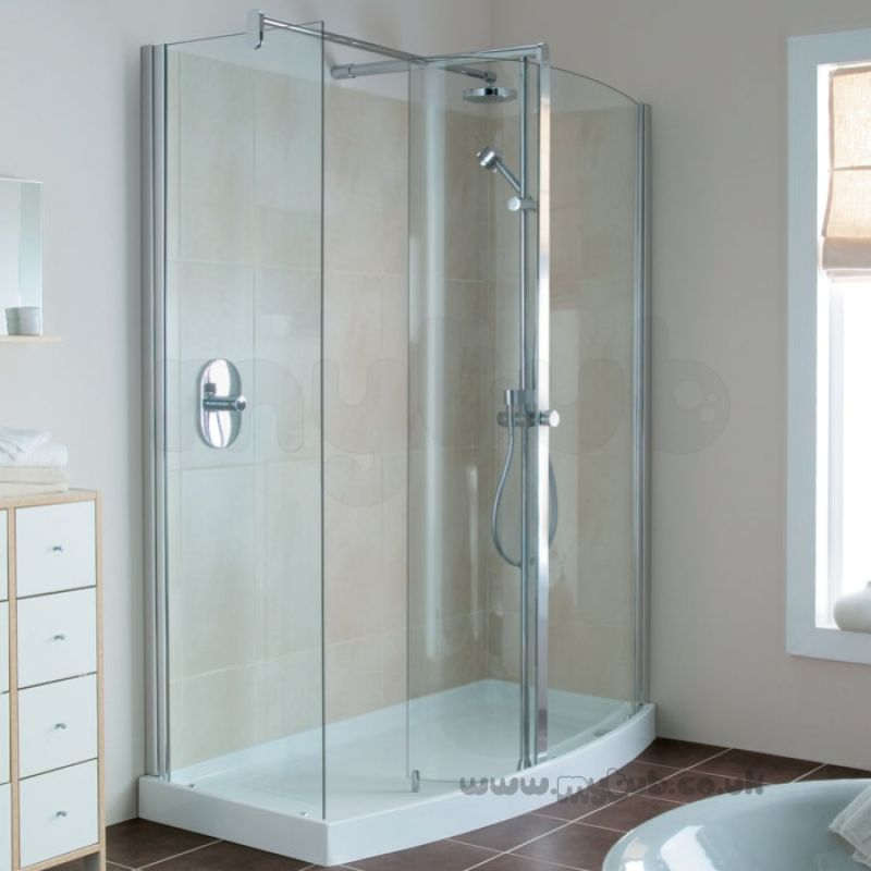 Ideal Standard Serenis 180 Corner L5234 Right Hand 1700 X 850 Shower ...