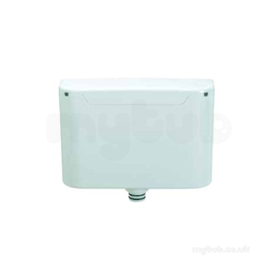 Chrome Miniflo Concealed Cistern With Side Inlet And Dual