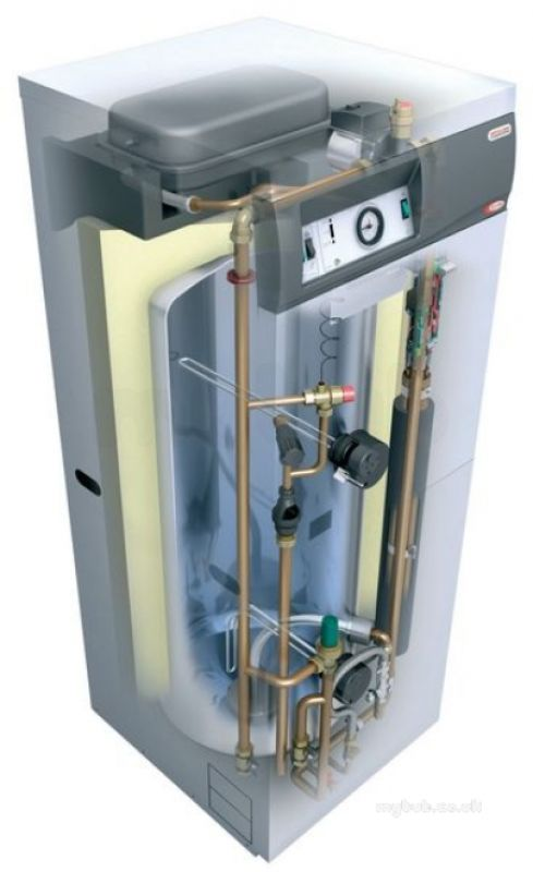 Electric Hot Water Boilers ~ White electromax solar kw electric boiler domestic hot