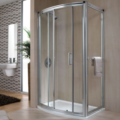 Hydr8 Bow Sliding Door 1200mm H88501cp & Hydr8 Bow Sliding Door 1200mm H88501cp : Twyford