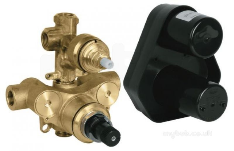 grohe 34212000 brass grohtherm 3000 thermostat bath shower mixer wax thermoelement grohe. Black Bedroom Furniture Sets. Home Design Ideas