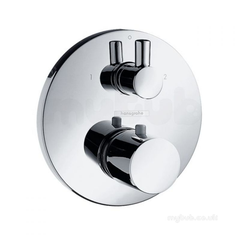 Hansgrohe 15721 Therm Mixer Finish Set Cp : Hansgrohe