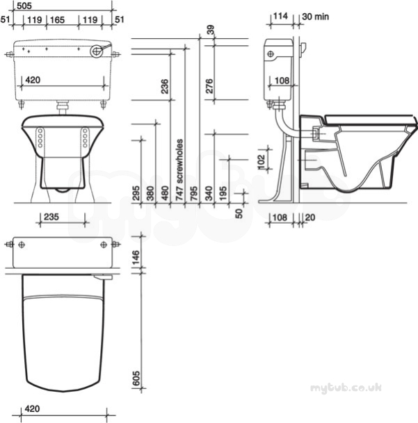 roca toilet cistern fitting instructions