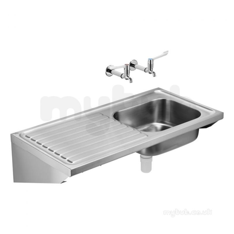 Sissons Stainless Steel Sinks : Armitage Shanks Doon Sink S5987 Nth 120x60 Pol Ss Lh Drn : Armitage ...