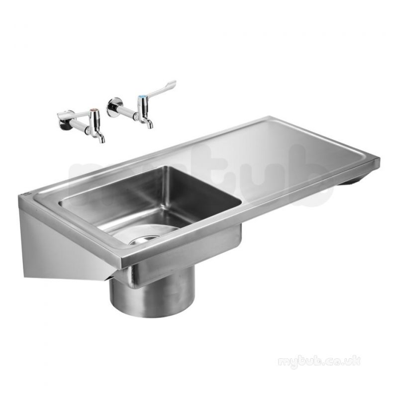armitage shanks clyde sink 120x60 pol ss left hand bowl no tap holes plus ftgs armitage shanks clyde sink 120x60 pol ss left hand bowl no tap      rh   mytub co uk