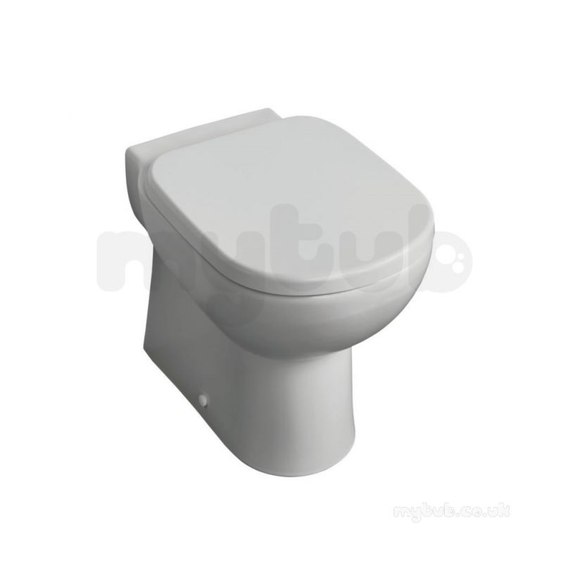 ideal standard tempo t3279 back to wall wc pan ho white. Black Bedroom Furniture Sets. Home Design Ideas