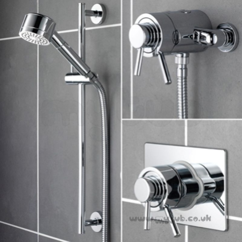 Prism Pmcshuarc Thermo M D Shower Val Cp Bristan