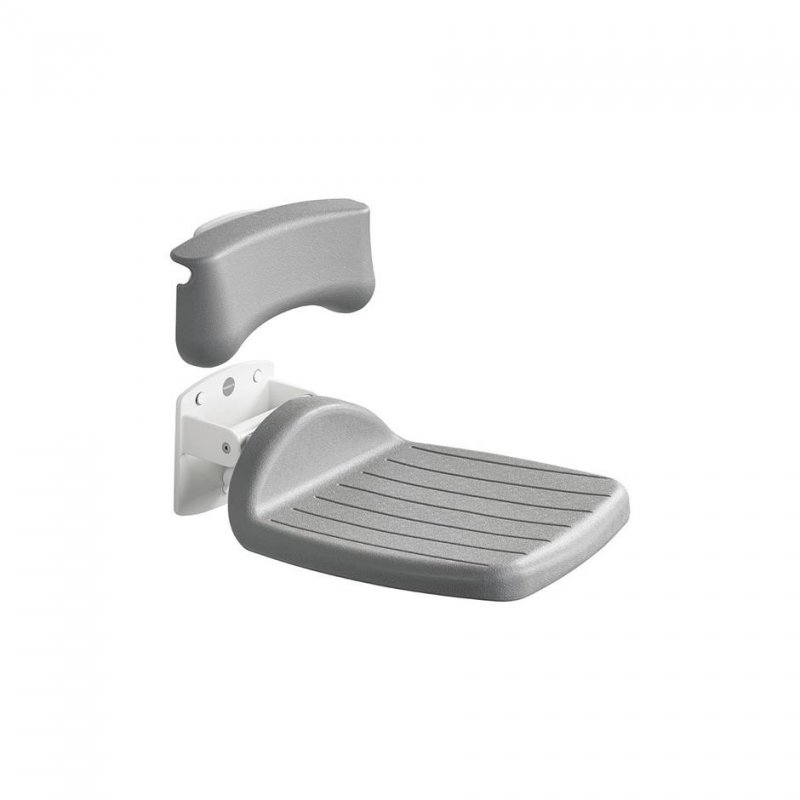 Armitage Shanks S6632 Folding Shower Seat Grey : Armitage Shanks