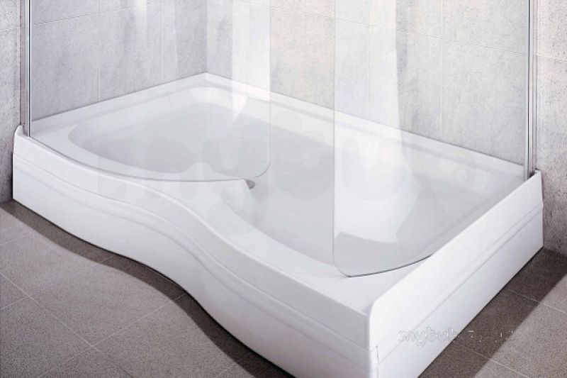 Coram walk in shower tray riser kit 1500x900 wh coram - Walk in shower base kit ...