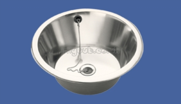 Sissons Stainless Steel Sinks - D20142n 380 X 160 Round Inset Sink ...