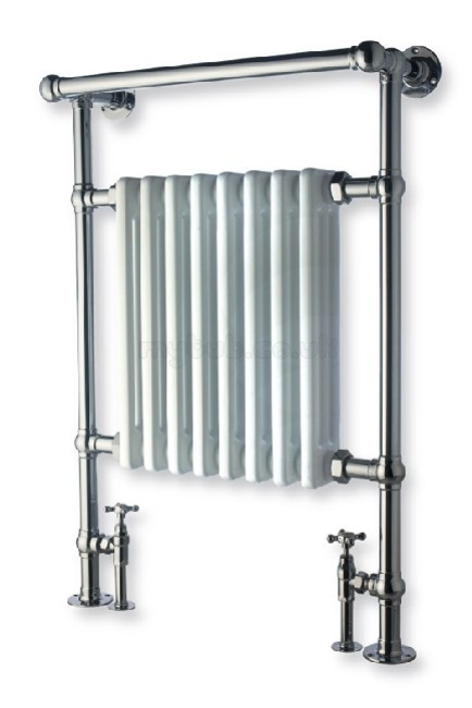 Decorative Towel Warmers : Myson dee vr radiator towel warmer white