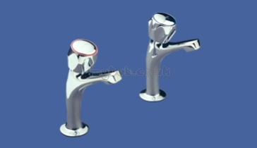 Sissons Stainless Steel Sinks : Sissons Stainless Steel Products - Sissons F1083 Fluted Sink Taps Pair