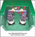 226 Trashmaster Floor Mtd With Pumps 1ph