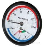Related item Flexcon Thermo/pressure Gauge 1/2 Inch Back