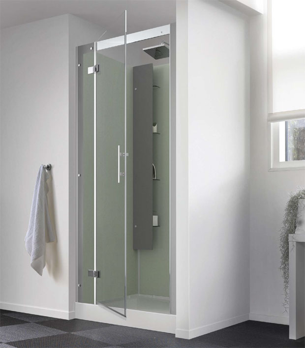 Horizon Recessed 800mm Shower Cubicle Ca131a12 Saniflo