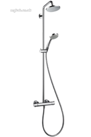 Großartig Hansgrohe 27169000 Croma 100 Showerpipe : Hansgrohe QY41