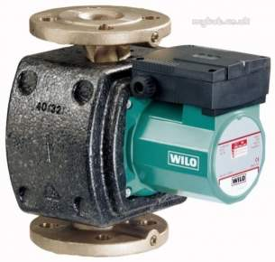 Wilo Light Commercial and Bronze Pumps -  Top Z25/6 3ph Bronze Bare Pump Wilo