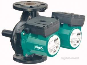 Wilo Light Commercial and Bronze Pumps -  Wilo Top Sd65/10 1ph Twin Head Pump Flanged