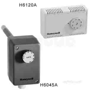 Honeywell Commercial HVAC Controls -  Honeywell H6045a1002 Stat Duct Single Stage