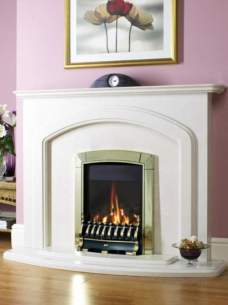 Flavel Gas Fires -  Flavel Caress He Trad Mc Silver Fhec3jmn