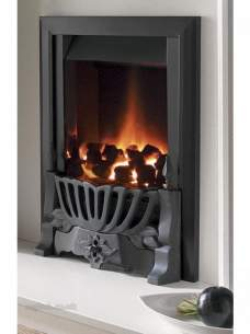 Flavel Gas Fires -  Flavel Warwick Gas Fire Ng Black