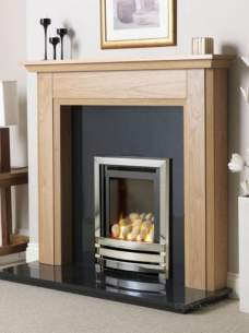 Flavel Gas Fires -  Flavel Linear He Pebble Gas Fire Ng
