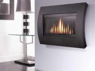 Flavel Gas Fires -  Bfm Flavel The Curve Graphite Fcrrxxrn