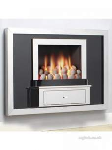 Flavel Gas Fires -  Bfm Flavel The Vesta Rc Pebble Fvtp00rn