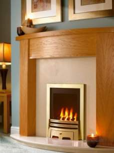 Flavel Gas Fires -  Flavel Windsor Classic Fire Ng Brass