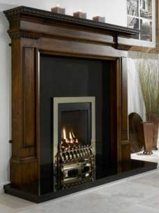 Flavel Gas Fires -  Flavel Windsor He Mc Traditional Brass