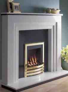 Flavel Gas Fires -  Flavel Windsor Cont Coal Gf Ng Plain Brs