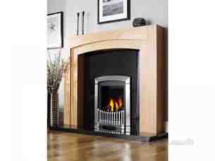 Flavel Gas Fires -  Flavel Melody Gas Fire Ng Black/brass