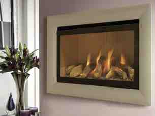 Flavel Gas Fires -  Flavel Rocco Mc Cream/champagne Trim Ng