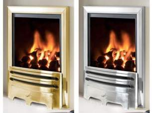 Flavel Gas Fires -  Flavel Kenilworth Rc Silver Gas Fire Ng