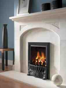 Flavel Gas Fires -  Flavel Kenilworth Gas Fire Ng Black