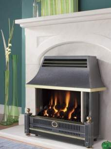 Flavel Gas Fires -  Flavel Renoir Black Ods Gas Fire Ng