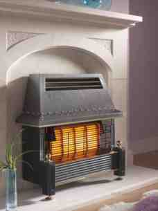 Flavel Gas Fires -  Flavel Regent Black Ods Gas Fire Ng