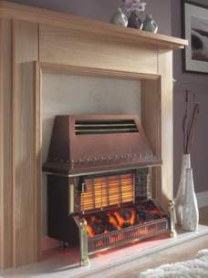 Flavel Gas Fires -  Flavel Welcome Bronze Ods Gas Fire Ng