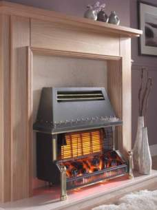 Flavel Gas Fires -  Flavel Welcome Black Ods Gas Fire Ng